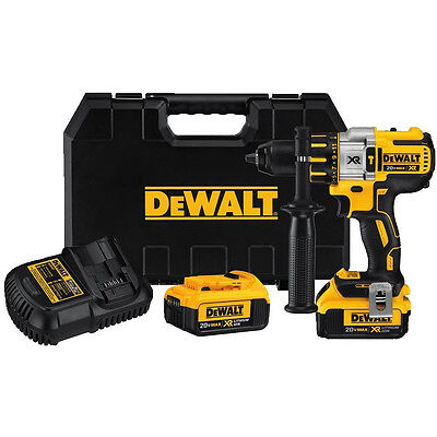 Dewalt DCD995M2R 20V MAX XR Cordless Brushless Hammer Drill Reconditioned