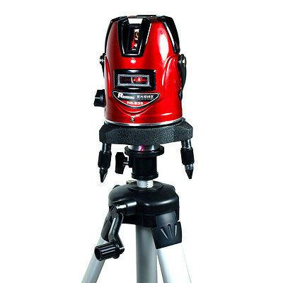 Laser Level Vertical Horizontal Lines 5-Line Self Leveling with Tripod