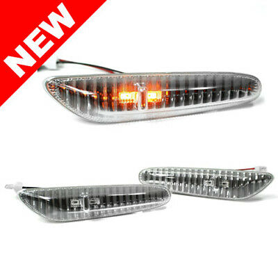 04-09 Bmw E60 5-Series Led Side Marker Lights - Crystal Clear