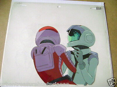 Mobile Suit Gundam 08Th Ms Team Shiro / Aina Anime Production Cel 2