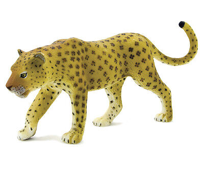 Mojo Fun 387018E Leopard - Early Version Wild Animal Toy Figurine Replica - NIP