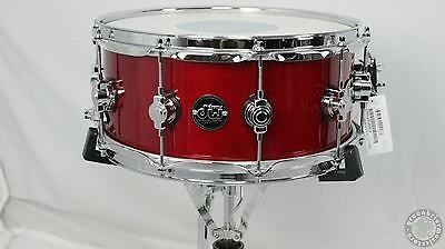 DW Drum Workshop Performance Series 6.5x14 Snare Drum Candy Apple Red- New