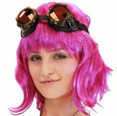 Scott Pilgrim Vs. The World Comedy Movie Ramona Flowers Character Costume Wig