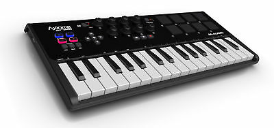 M-Audio Axiom Air Mini 32 Tasten Usb Midi Keyboard Controller 8 Pads Mac Pc Neu