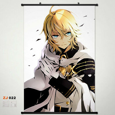 Seraph of the end OwarinoSeraph Wallscroll Stoffposter Wallposter 60x90cm 013