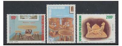Benin - 1983 Woodwork set - MNH - SG 911/13