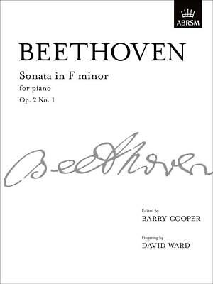 Sonata in F minor, Op. 2 No. 1, Paperback, Signature Series, 9781848491946