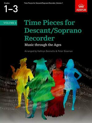 Time Pieces For Descant/Soprano Recorder - Volume 1 Soprano (Descant) Recorder,
