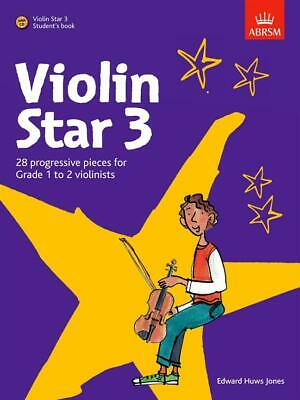 Edward Huws Jones: Violin Star 3 - Student's Book Violin Sheet Music, CD Backing