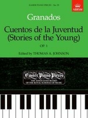 Cuentos de la Juventud (Stories of the Young),  Op.1, Paperback, 9781854722836