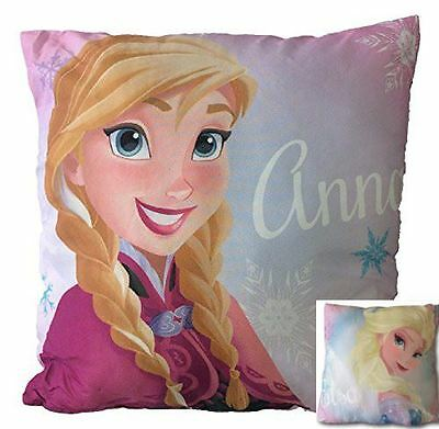 Disney Frozen 'Eternal' Elsa & Anna Reversible Printed Filled Cushion 40 x 40cm