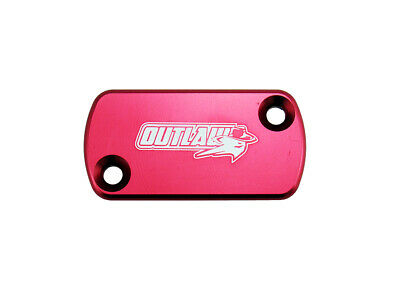 Outlaw Racing Billet Front Brake Cap Red CRF150 CRF230