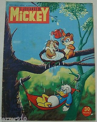 ¤ LE JOURNAL DE MICKEY n°258 ¤ 05/05/1957