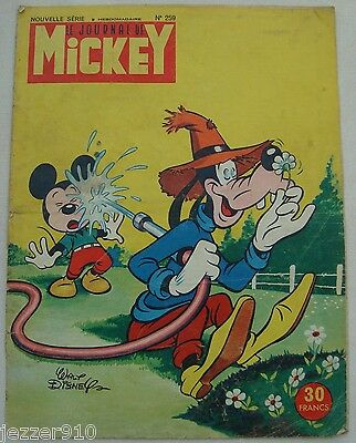 ¤ LE JOURNAL DE MICKEY n°259 ¤ 12/05/1957