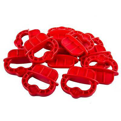 "Kreg Deckspacer Decking Spacer Rings 1/4"" Red with Handle for Deck Jig (12 Pack)"