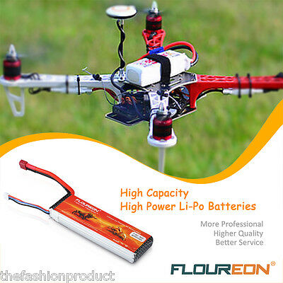 3S 11.1V 3300mAh 40C LiPo Battery Pack XT60 RC Evader Car Truggy Helicopter Boat