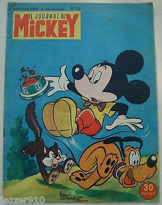 ¤ LE JOURNAL DE MICKEY n°278 ¤ 22/09/1957