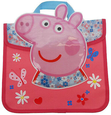 Peppa Pig HOME SWEET HOME DAISIES BOOK BAG Toddler/Child School Travel BN
