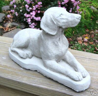 Concrete German Shorthaired Pointer Dog Statue