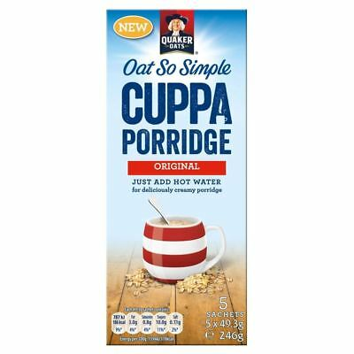 Quaker Oats So Simple Cuppa Porridge - Original (5 per pack - 246g)