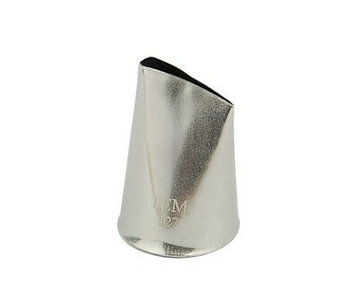JEM #127 LARGE PETAL Stainless Steel Icing Piping Decorating Nozzle Tip Tube
