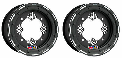 "DWT ROK OUT 2 Front Wheel Rim Matte Black 10/"" 10x5 3+2 4//144 TRX 450R 400EX 250R"