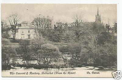 irish postcard ireland cavan belturbet convent and rectory