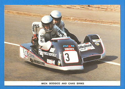 Mick Boddice And Chas Birks,at May Hill,ramsey.1985 T.t.limited Editon Postcard