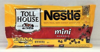 Nestle Toll House Mini Semi Sweet Morsels 12 oz Chips