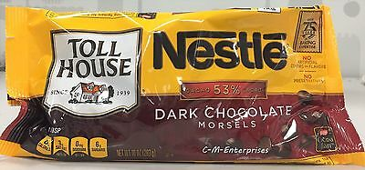 Nestle Toll House Dark Chocolate Morsels 10 oz Chips