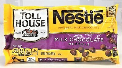 Nestle Toll House Milk Chocolate Morsels 11.5 oz Chips