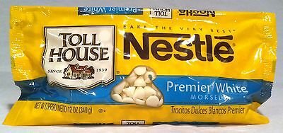 Nestle Premier White Morsels 12 oz