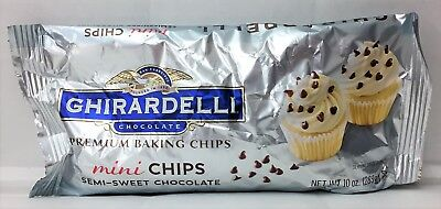 Ghirardelli Semi Sweet Mini Baking Chips 10 oz
