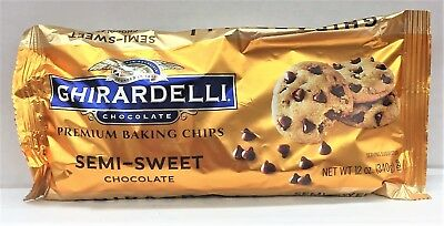 Ghirardelli Semi Sweet Baking Chips 12 oz.