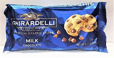 Ghirardelli Milk Chocolate Baking Chips 11.5 oz.