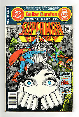Superman Family Vol 1 No 189 Jun 1978 (VFN) 80 Page Dollar Comic,All New Stories