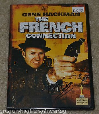Gene Hackman Signed The French Connection Autograph