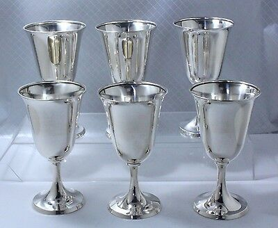 Sterling Silver Goblets by International P661