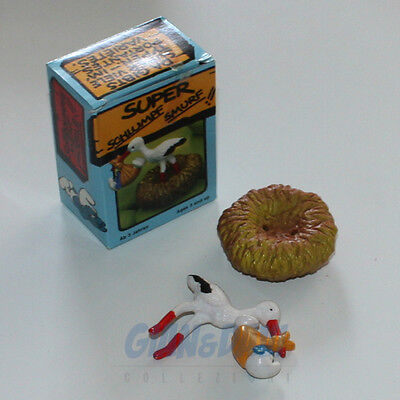 PUFFO PUFFI SMURF SMURFS SCHTROUMPF 4.0248 40248 Stork With Baby Cicogna Box 5A