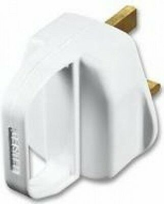 Mains Plug 13A Fused with Handle
