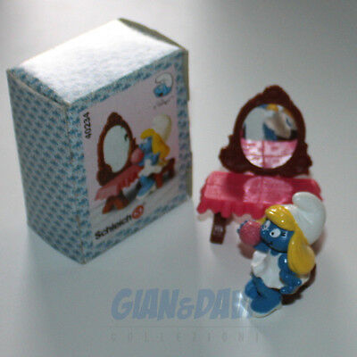 PUFFO PUFFI SMURF SMURFS SCHTROUMPF 4.0234 40234 Vanity Table Puffetta Box 6A