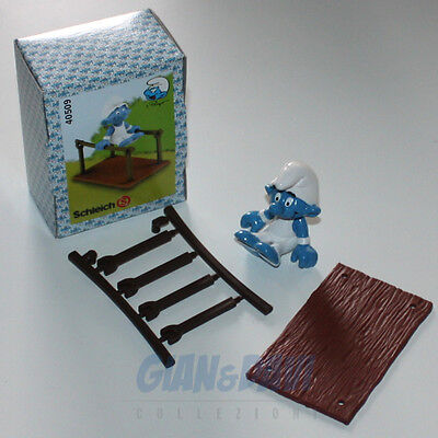 PUFFO PUFFI SMURF SMURFS SCHTROUMPF 4.0509 40509 Bars Gymnast Parallele Box 6A