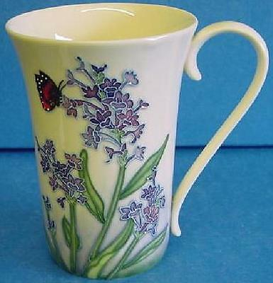Old Tupton Ware Lavender Dream Pattern Tubelined Porcelain Mug 3106