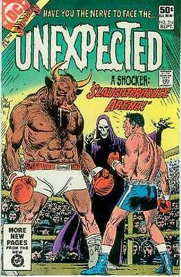 The Unexpected # 214 (USA,1981)