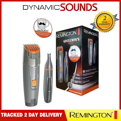 Remington MB4011 Beard Trimmer with Nose/Ear Hair Trimmer & Moustache Mug