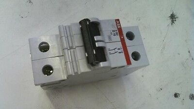 ABB 2 Pole 16A 400V Miniature Circuit Breaker S262-D16