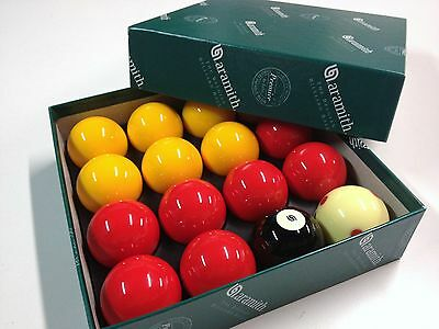 REAL Aramith Casino Pool Balls 2 inch with 1 & 7/8 inch Measle Spot White Ball