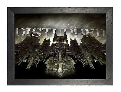Disturbed (4) Rock Band Metal Legends Star Classic Oldschool New Poster