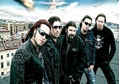 Firewind 2 Photo Rock Band Print Heavy Metal Legends Picture Retro Music Poster
