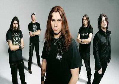 Firewind 4 Photo Rock Band Print Heavy Metal Legends Picture Retro Music Poster